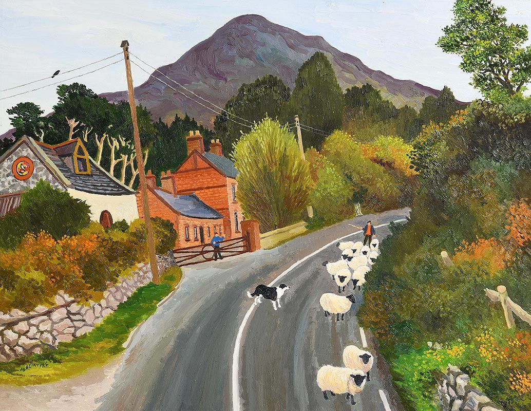 James MacIntyre, Ballynahinch, Connemara at Morgan O'Driscoll Art Auctions