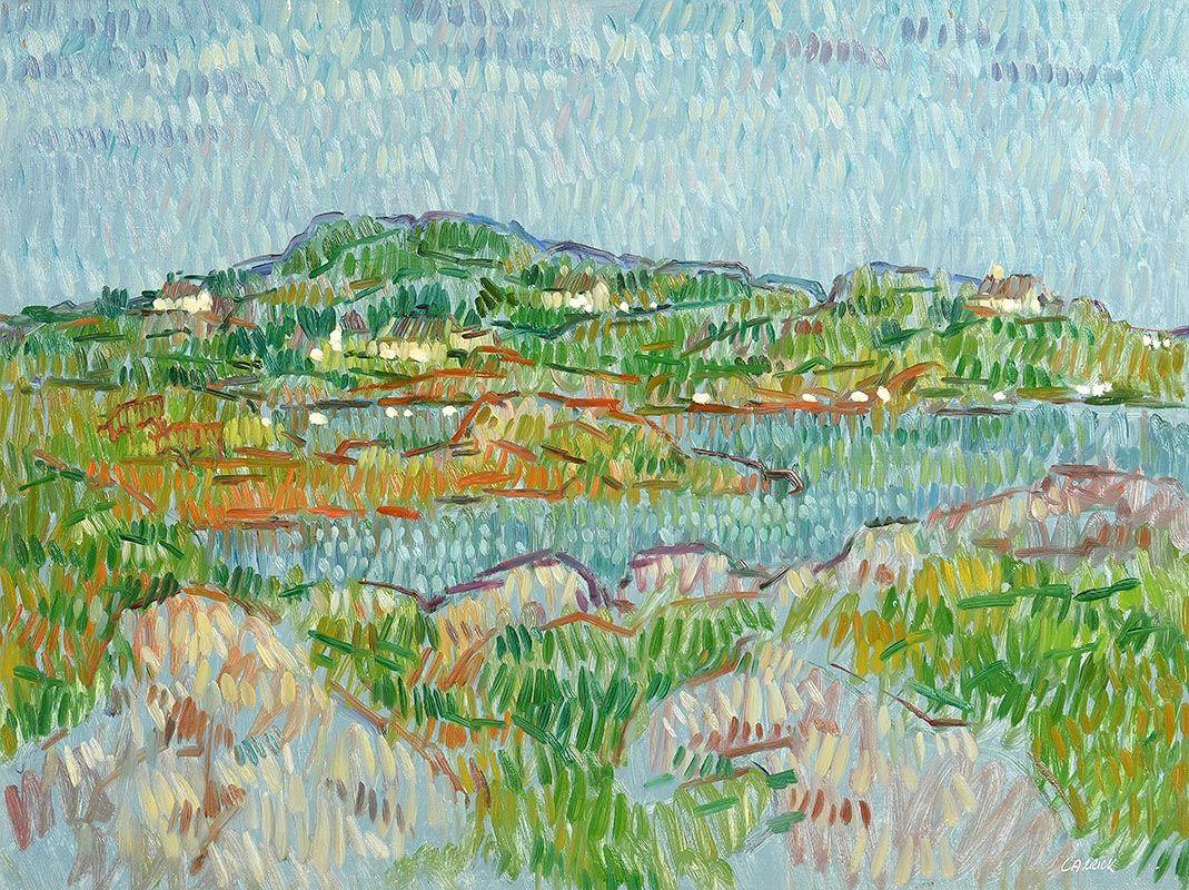 Desmond Carrick, Connemara Landscape at Morgan O'Driscoll Art Auctions