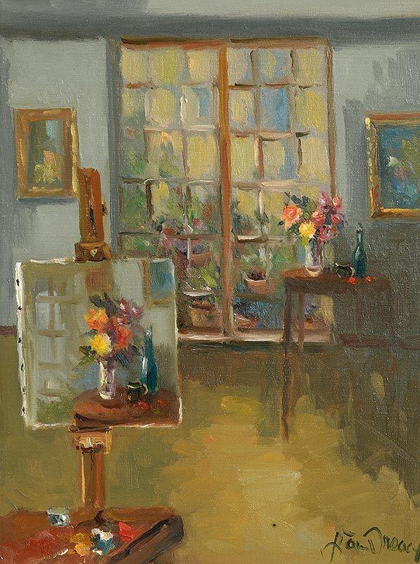 Liam Treacy, Artist's Studio at Morgan O'Driscoll Art Auctions