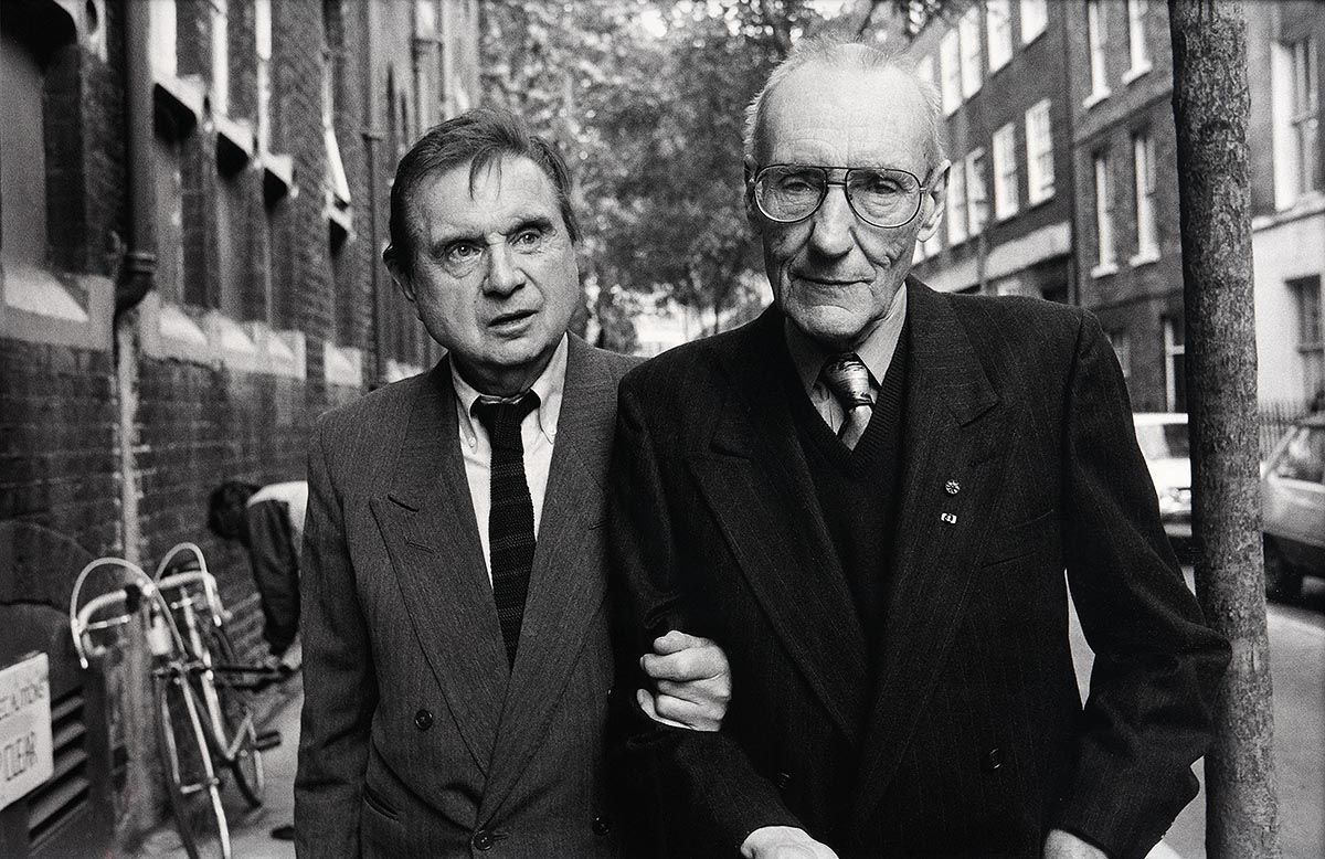 John Minihan, Francis Bacon with William Burroughs, London (1989) at Morgan O'Driscoll Art Auctions