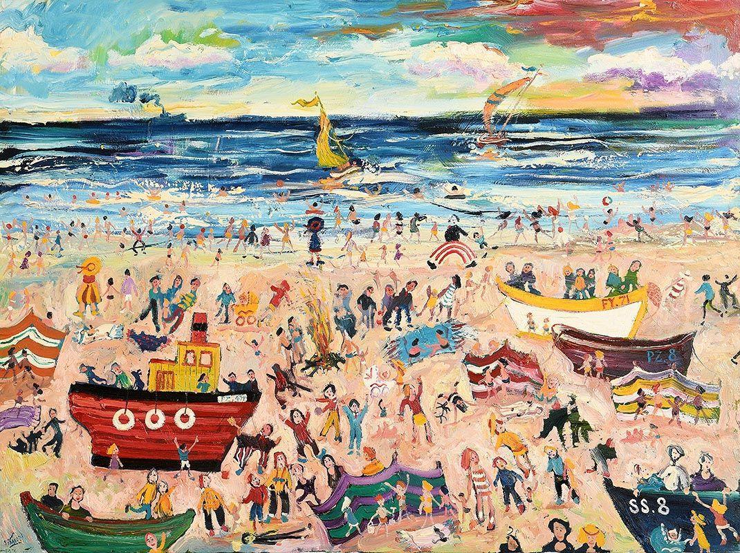 Simeon Stafford, Cornwall at Morgan O'Driscoll Art Auctions