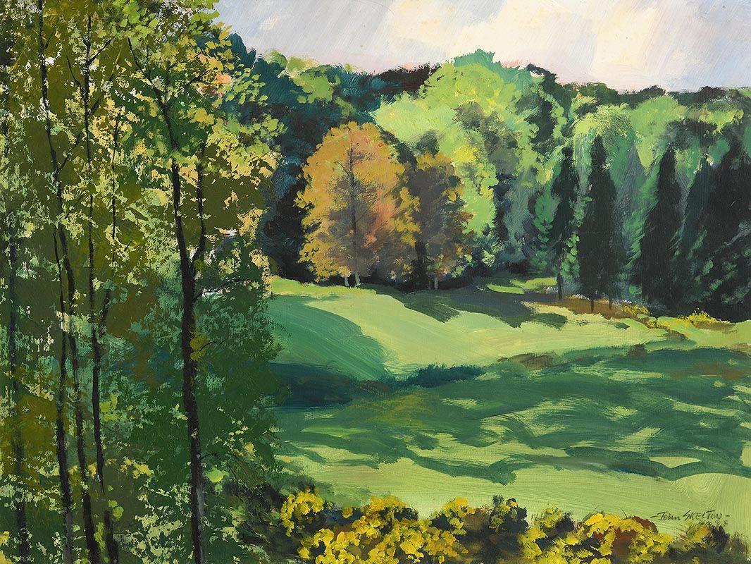 John Skelton, Spring, Dublin at Morgan O'Driscoll Art Auctions