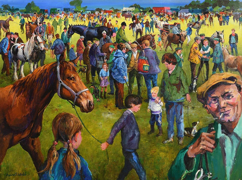 Kenneth Webb, Ballinasloe at Morgan O'Driscoll Art Auctions