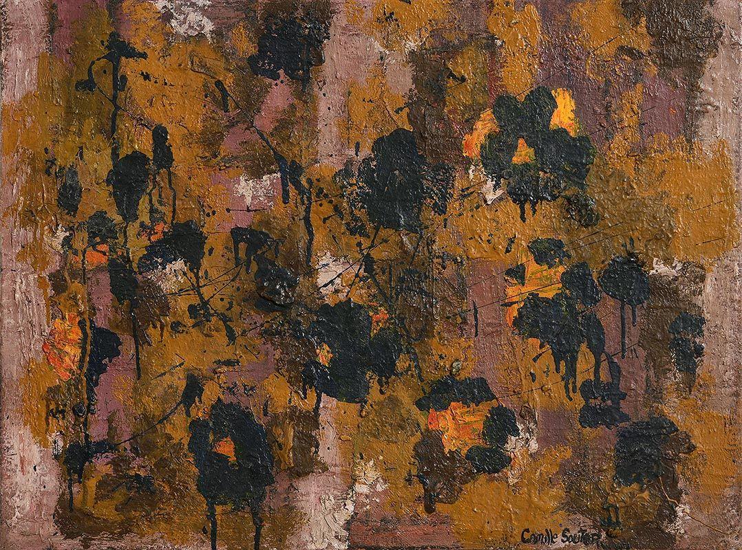 Camille Souter, Winter Vine, Dublin (1958) at Morgan O'Driscoll Art Auctions