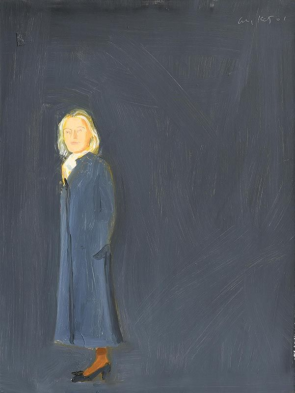 Alex Katz, Ada (2001) at Morgan O'Driscoll Art Auctions
