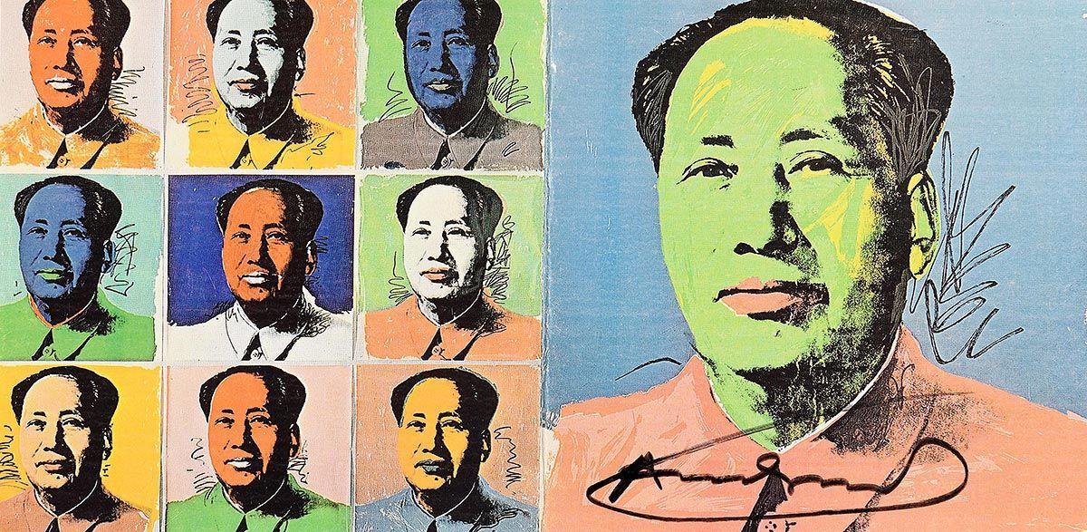 Andy Warhol, Mao Tse-Tung (Announcement) at Morgan O'Driscoll Art Auctions