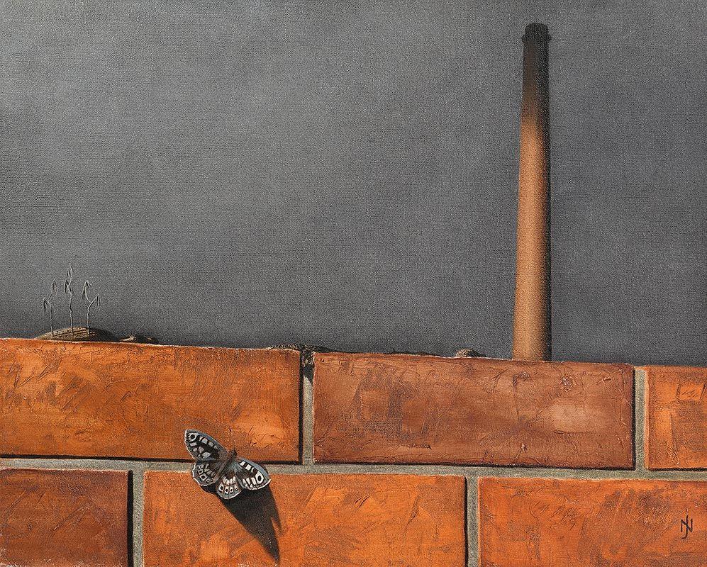 Nevill Johnson, The Wall at Morgan O'Driscoll Art Auctions