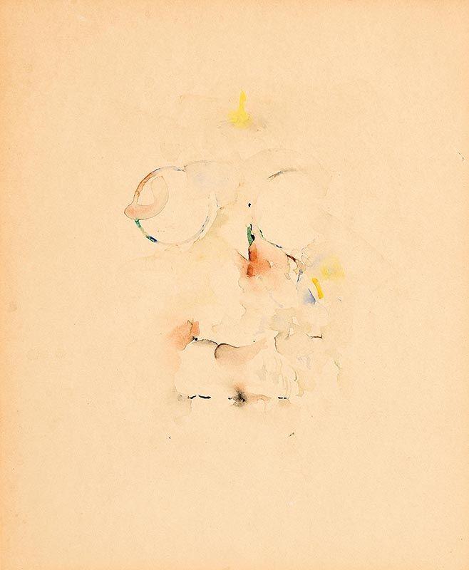 Louis Le Brocquy, James Joyce, Study 31 (W274)(1977) at Morgan O'Driscoll Art Auctions