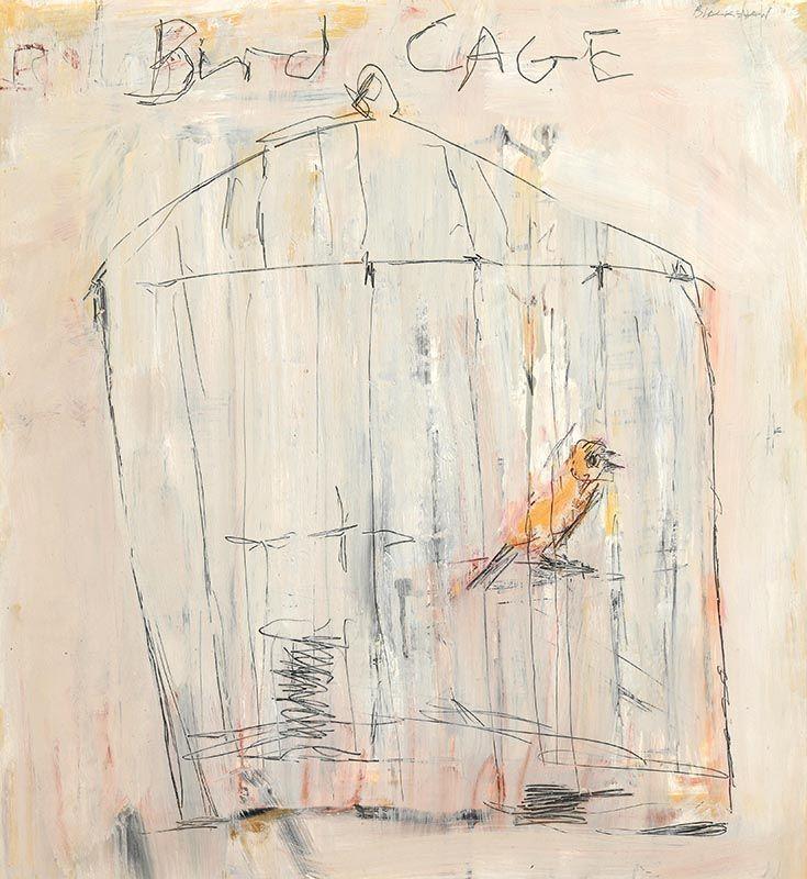 Basil Blackshaw, Bird Cage at Morgan O'Driscoll Art Auctions