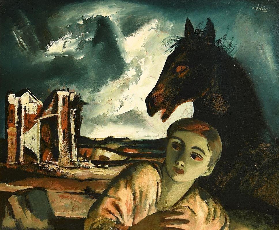 Daniel O'Neill, The Storm at Morgan O'Driscoll Art Auctions