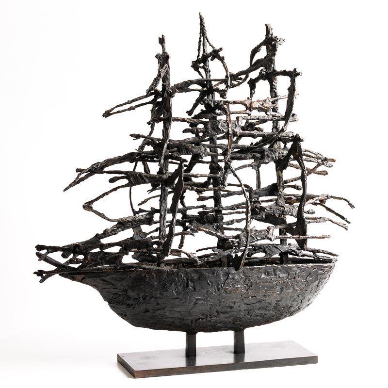 John Behan, Famine Ship (2005) at Morgan O'Driscoll Art Auctions