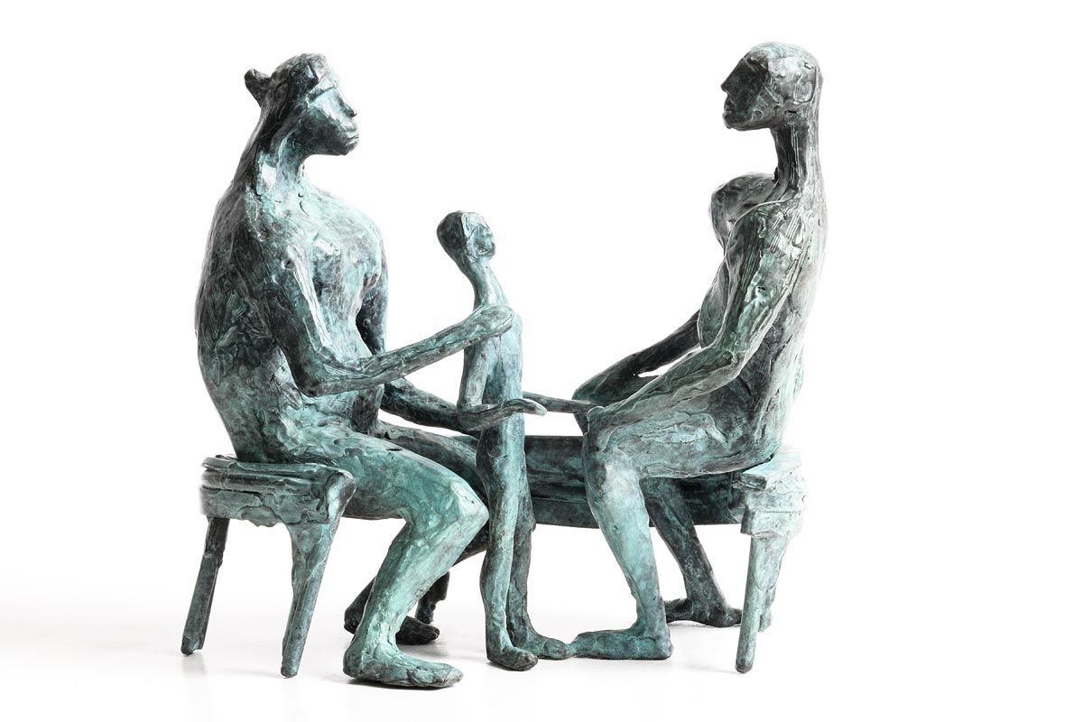John Behan, Family (2011) at Morgan O'Driscoll Art Auctions