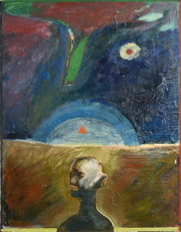 Patrick Graham, Godot Sinking at Morgan O'Driscoll Art Auctions