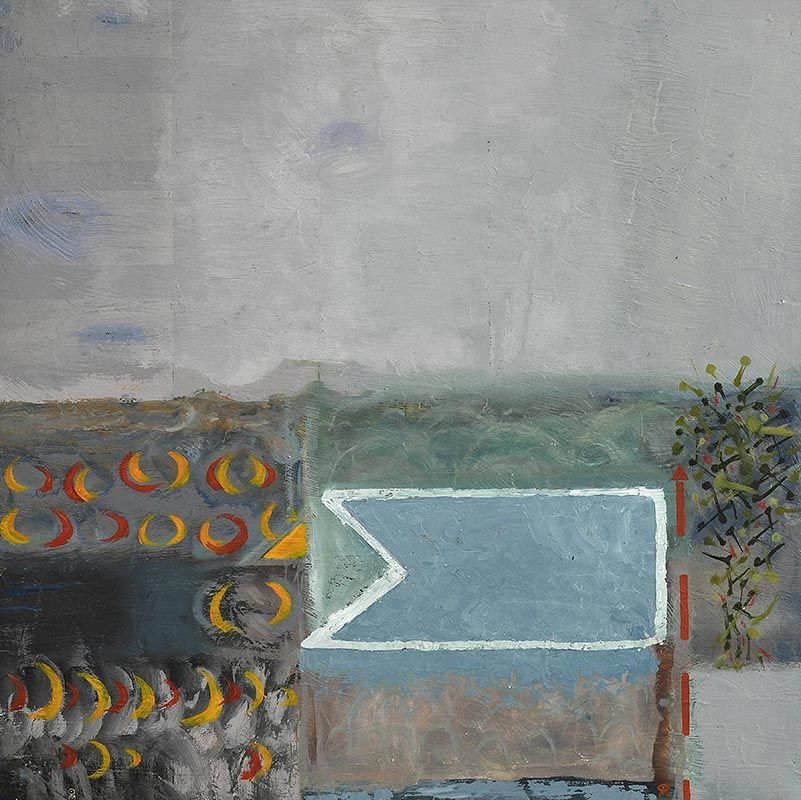 Colin Middleton, Grey Landscape at Morgan O'Driscoll Art Auctions