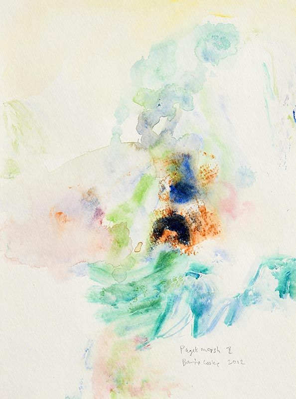 Barrie Cooke, Paget Marsh II (2012) at Morgan O'Driscoll Art Auctions