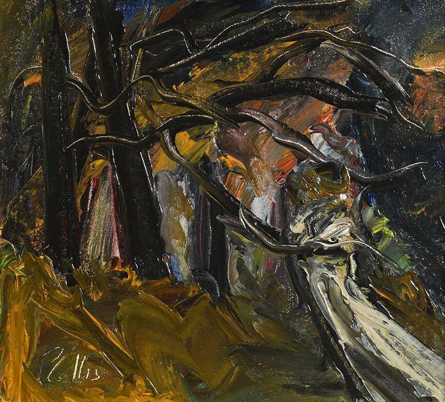 Peter Collis, Powerscourt Wood at Morgan O'Driscoll Art Auctions