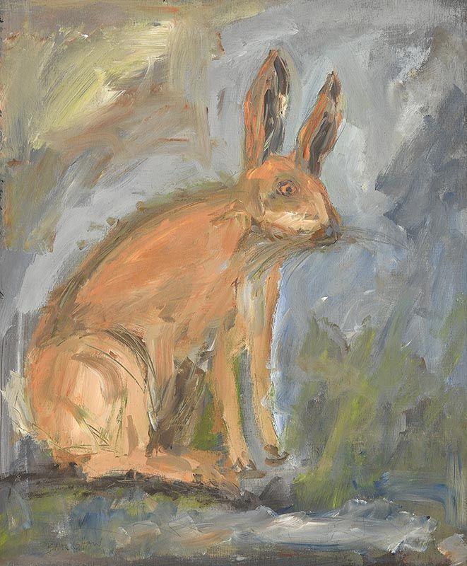 Basil Blackshaw, Brown Hare at Morgan O'Driscoll Art Auctions