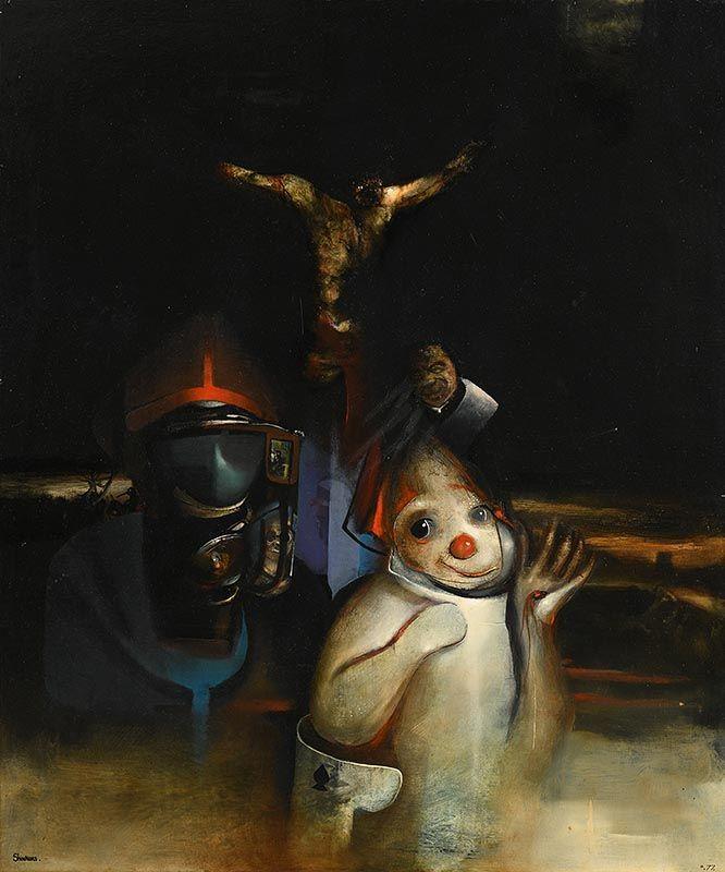 John Shinnors, First Friday (1977) at Morgan O'Driscoll Art Auctions