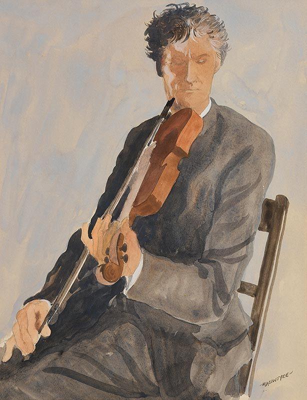 James MacIntyre, Let's Have a Tune (2001) at Morgan O'Driscoll Art Auctions