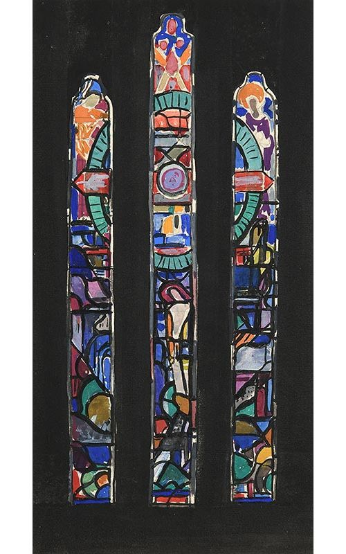 Evie Hone, Study for Stained Glass at Morgan O'Driscoll Art Auctions