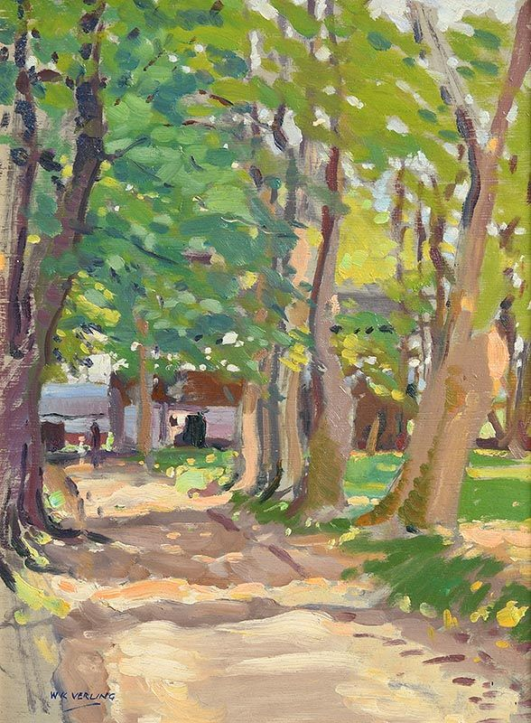 Walter Verling, Old Farmhouse, Adare at Morgan O'Driscoll Art Auctions