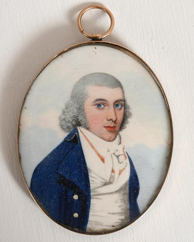 Frederick Buck, Portrait of a Gentleman in a Blue Coat at Morgan O'Driscoll Art Auctions