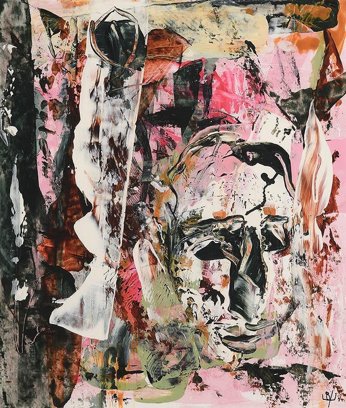 John Kingerlee, Head in Landscape (2015) at Morgan O'Driscoll Art Auctions
