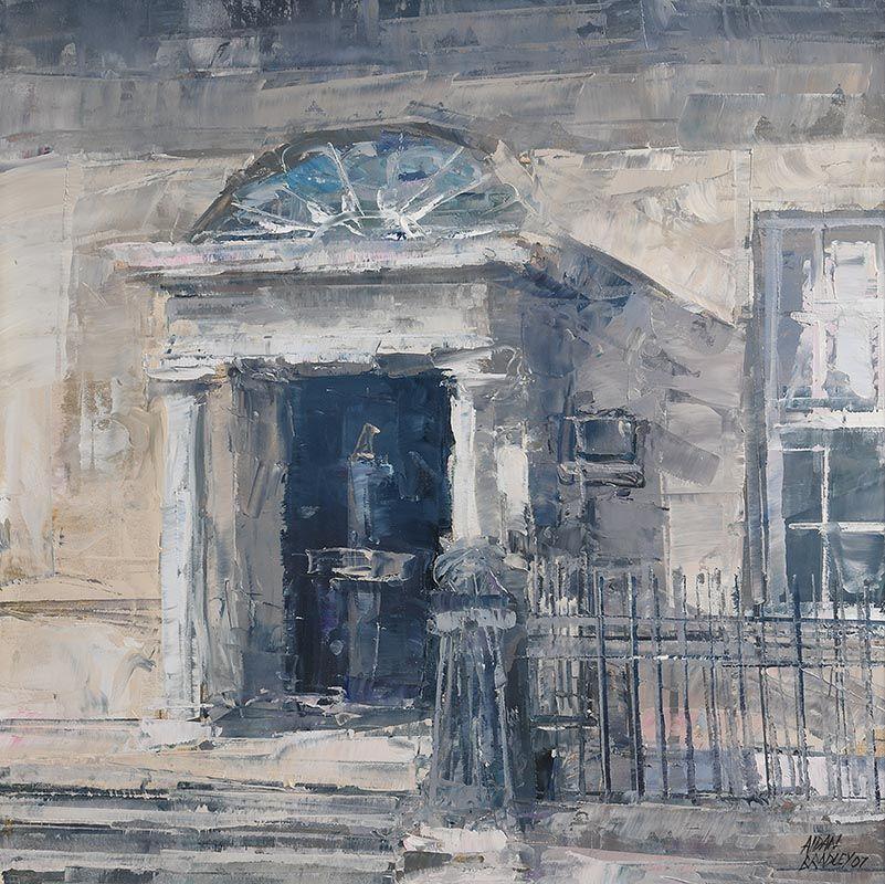 Aidan Bradley (b.1961), House Merrion Square (2007) at Morgan O'Driscoll Art Auctions