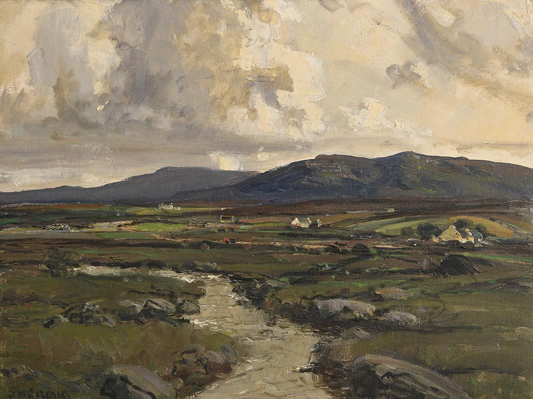 James Humbert Craig, Glenveigh Hills. Co. Donegal at Morgan O'Driscoll Art Auctions