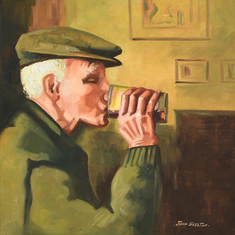 John Skelton, A Quiet Pint at Morgan O'Driscoll Art Auctions