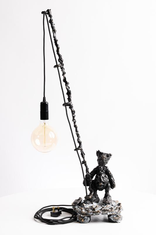 Patrick O'Reilly, Enlightened Bear (2018) at Morgan O'Driscoll Art Auctions
