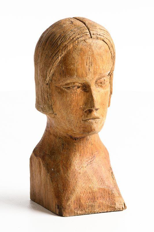 Markey Robinson, Head of a Woman at Morgan O'Driscoll Art Auctions