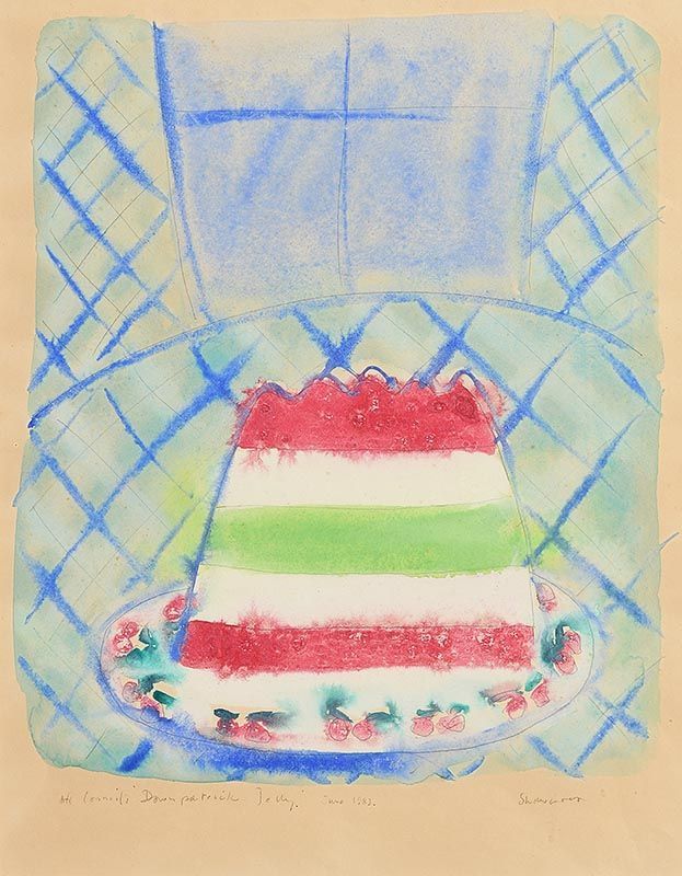 Neil Shawcross, Jelly (1983) at Morgan O'Driscoll Art Auctions