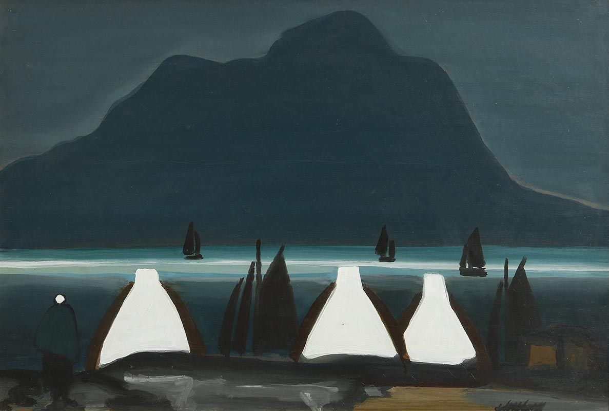 Markey Robinson, Sailing in Achill Sound at Morgan O'Driscoll Art Auctions
