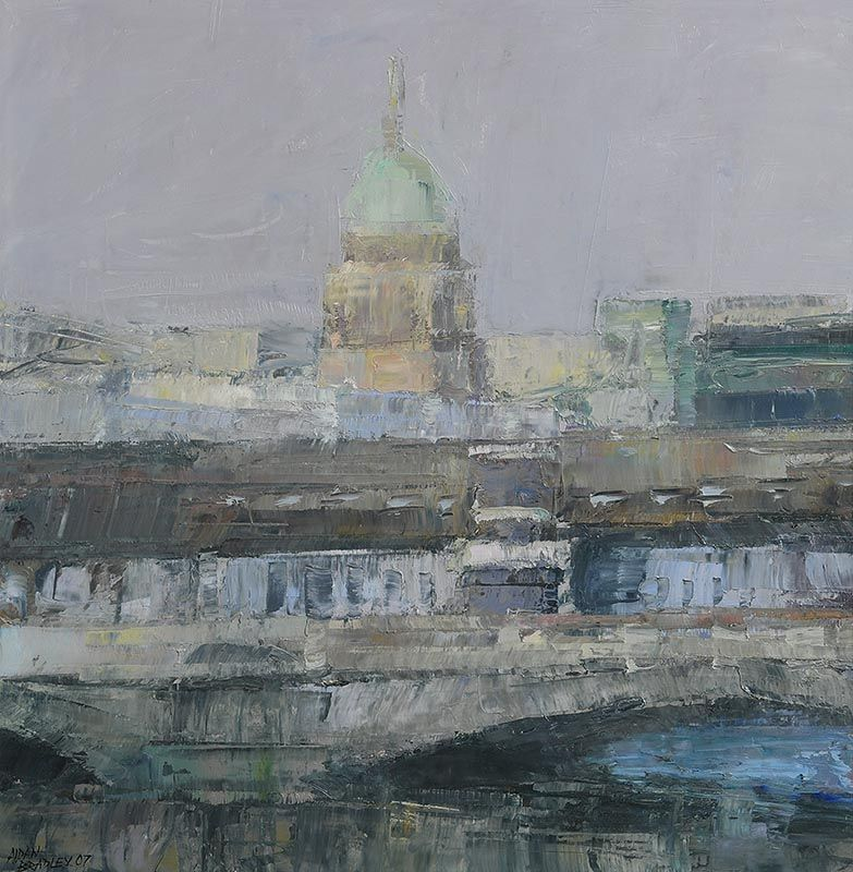 Aidan Bradley, Custom's House, Dublin (2007) at Morgan O'Driscoll Art Auctions