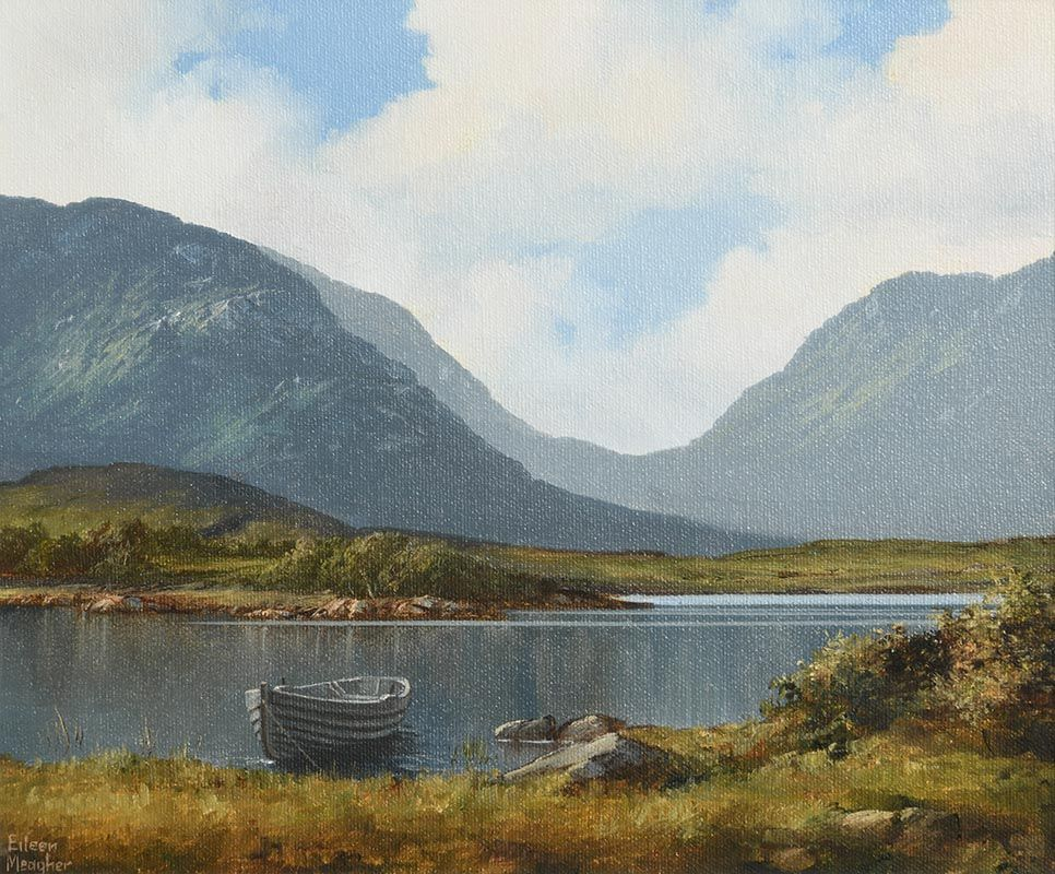 Eileen Meagher, Lake and Mountains, Connemara (1997) at Morgan O'Driscoll Art Auctions
