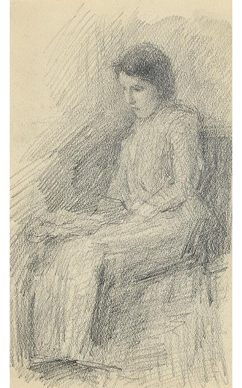 John Butler Yeats, Lolly at Morgan O'Driscoll Art Auctions