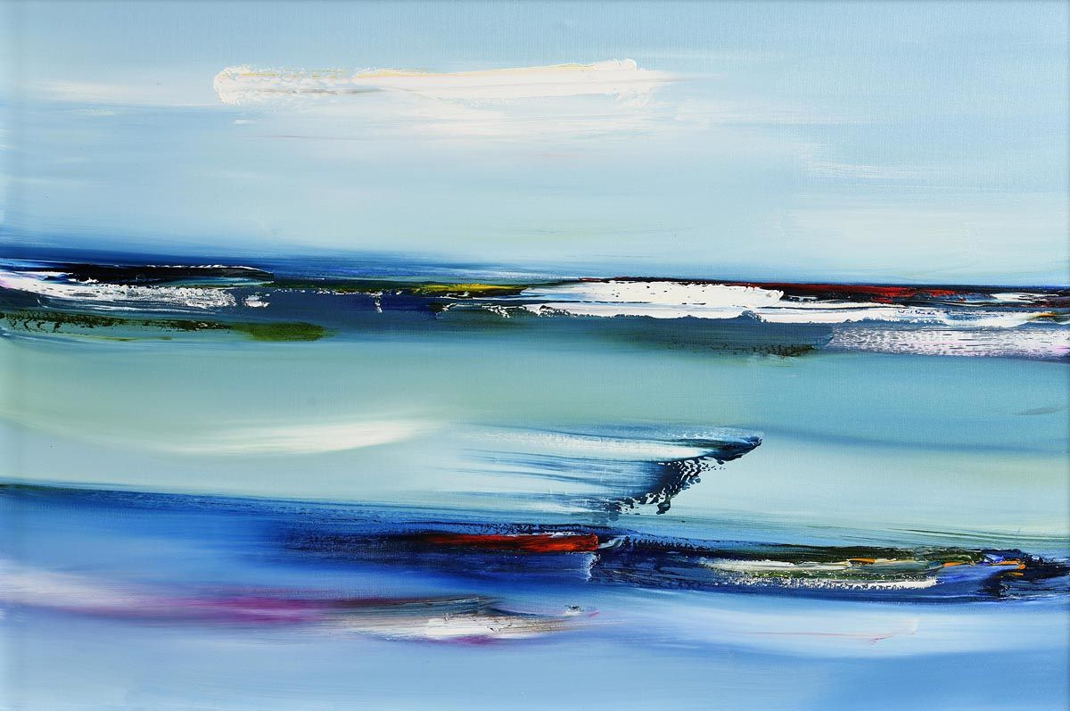 Majella O'Neill Collins, Leaving Sherkin Island Seas (2020) at Morgan O'Driscoll Art Auctions