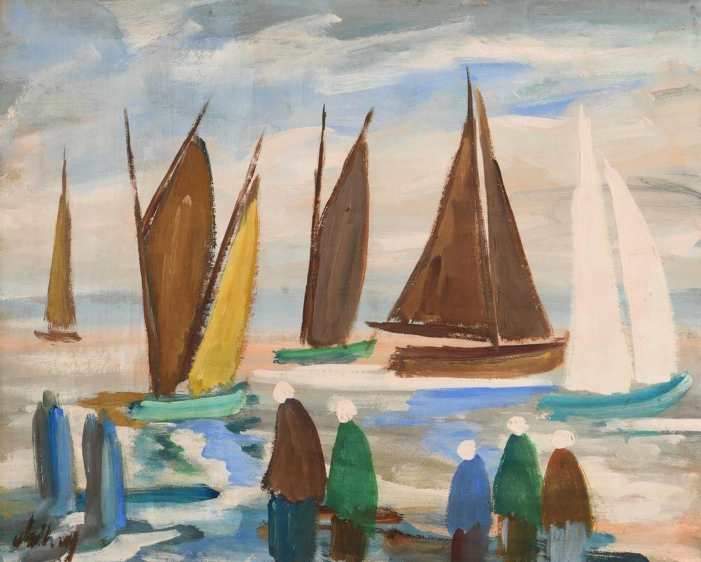 Markey Robinson, Awaiting the Catch at Morgan O'Driscoll Art Auctions