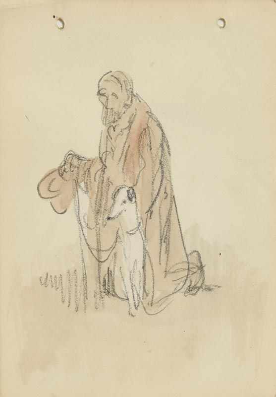 Jack Butler Yeats, Cap in Hand at Morgan O'Driscoll Art Auctions