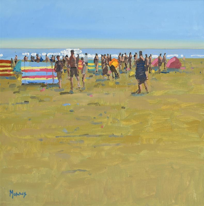 John Morris, Summer Windbreaks at Morgan O'Driscoll Art Auctions