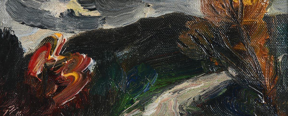 Peter Collis, Wicklow Road at Morgan O'Driscoll Art Auctions