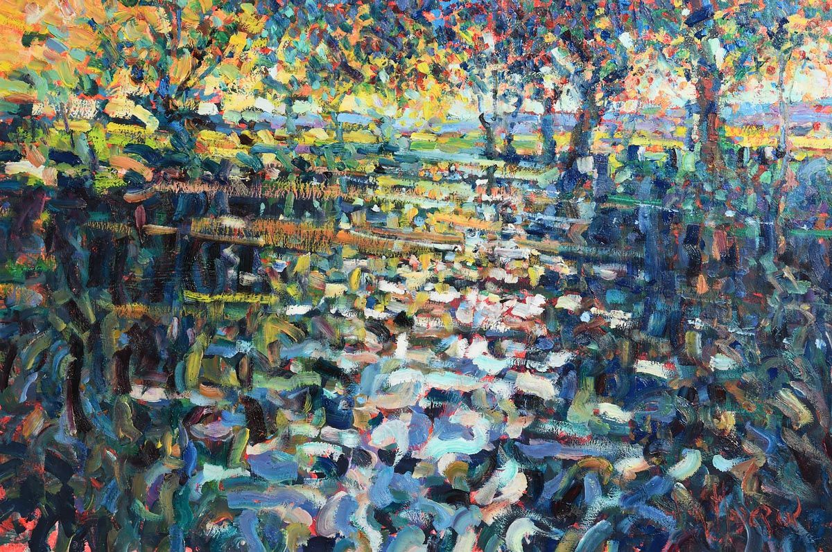 Arthur K. Maderson, Point of Sunset at Morgan O'Driscoll Art Auctions
