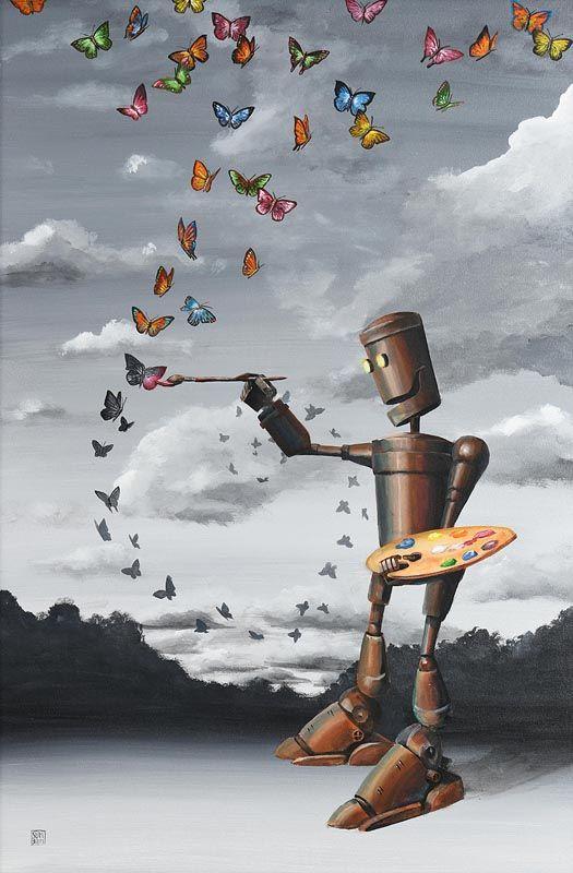 Michael Summers, Flight of Fantasy at Morgan O'Driscoll Art Auctions