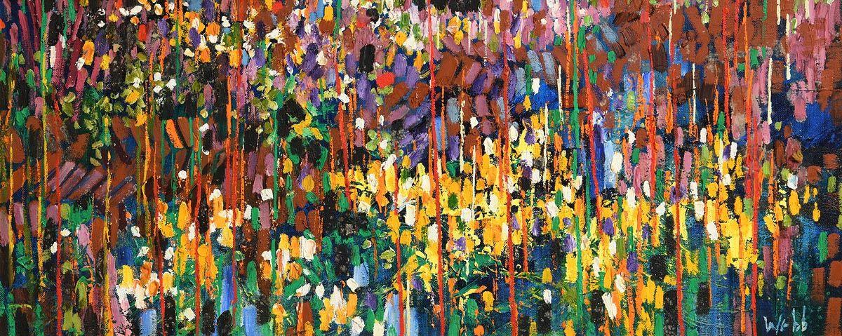 Kenneth Webb, Bog Cotton and Turf Bank at Morgan O'Driscoll Art Auctions