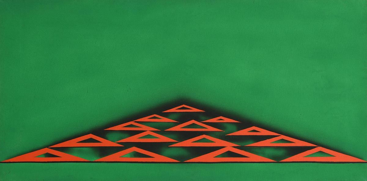 Michael Farrell, Study for Sandycove Series No. 10 (1969) at Morgan O'Driscoll Art Auctions