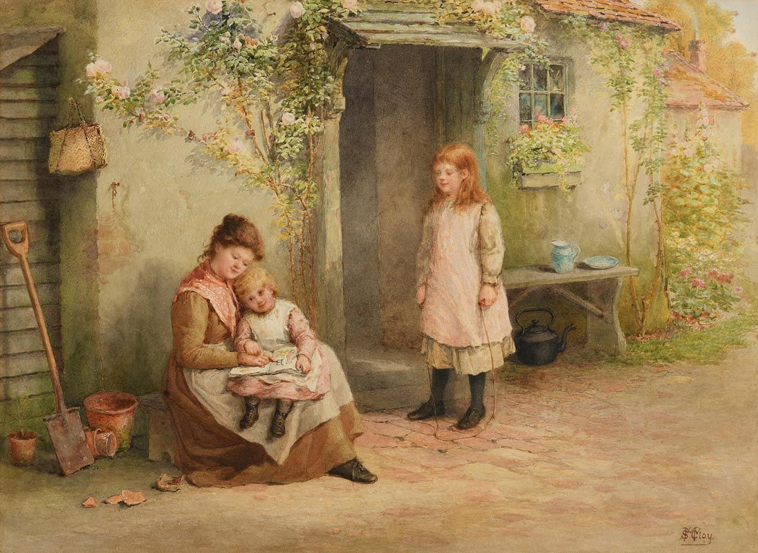 Samuel McCloy, Story Time at Morgan O'Driscoll Art Auctions