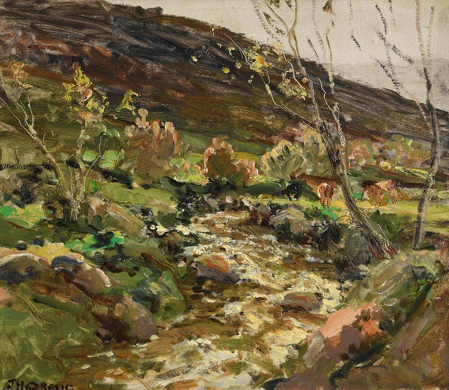 James Humbert Craig, Wetland Grazing at Morgan O'Driscoll Art Auctions