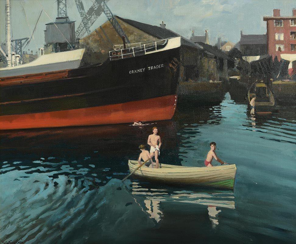 Henry Robertson Craig, Orkney Trader at Morgan O'Driscoll Art Auctions