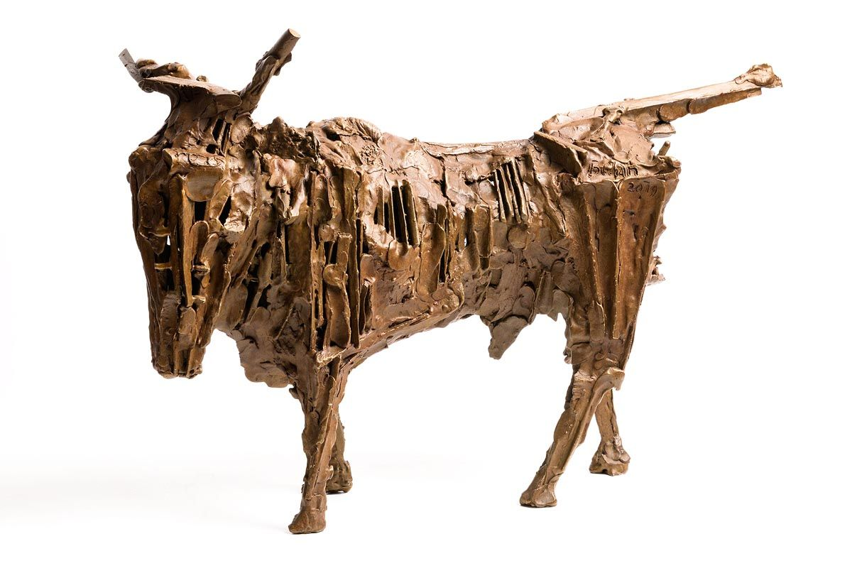 John Behan, West Bull (2019) at Morgan O'Driscoll Art Auctions